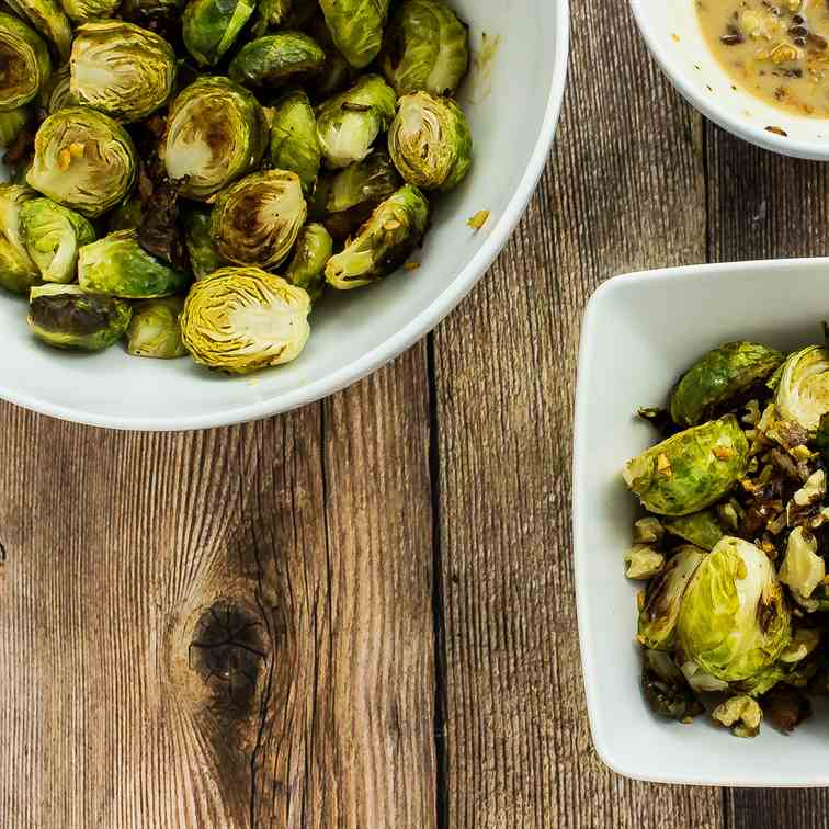 Bacon Honey Dijon Brussel Sprouts