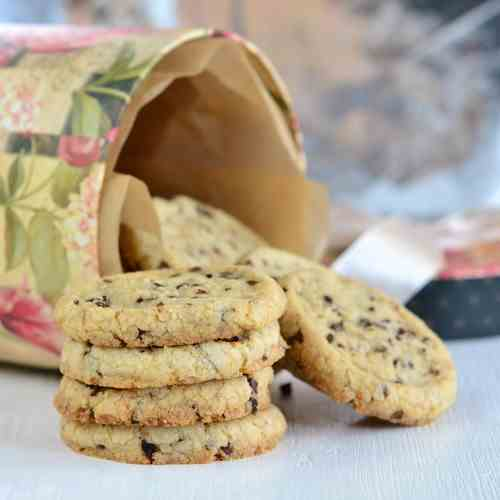 Walnut Cocoa Nib Cookies