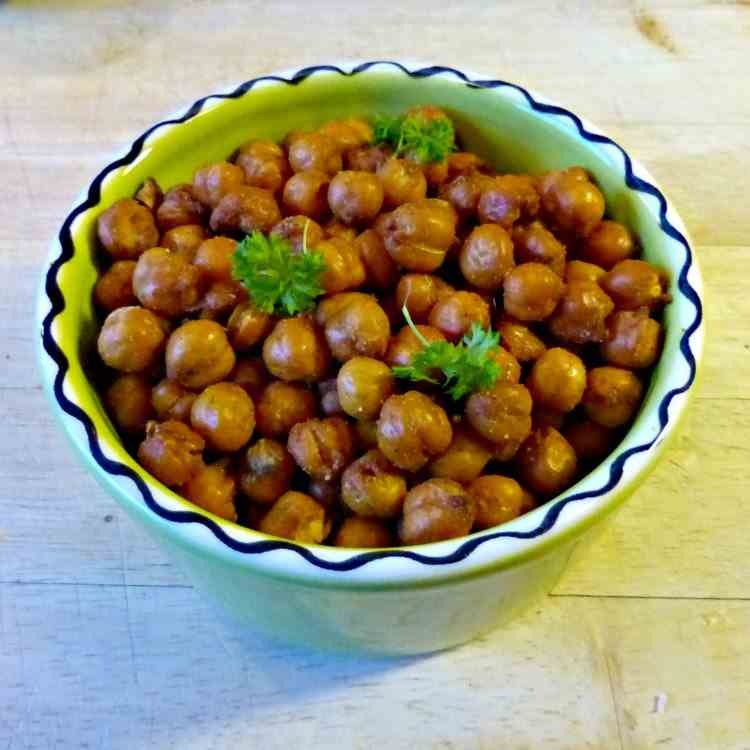 Spicy Roasted Chick-Peas