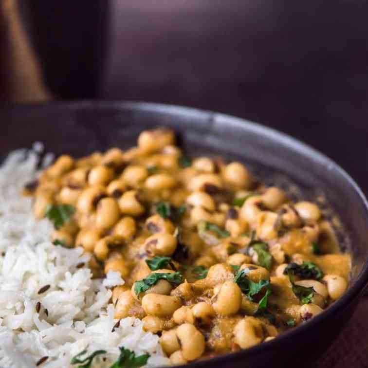 Black Eyed Peas Curry