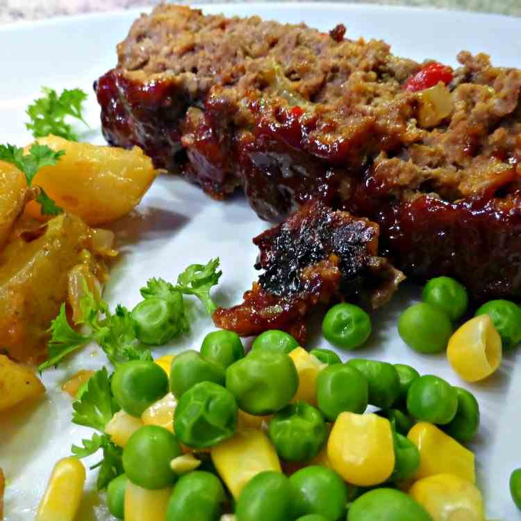 Spicy BBQ Meatloaf