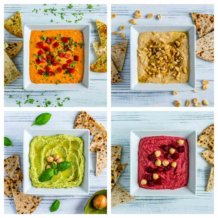 4 Hummus Recipes