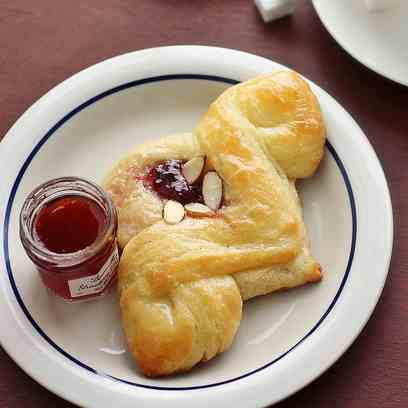 Pomegranate Cream Cheese Danish Pastry
