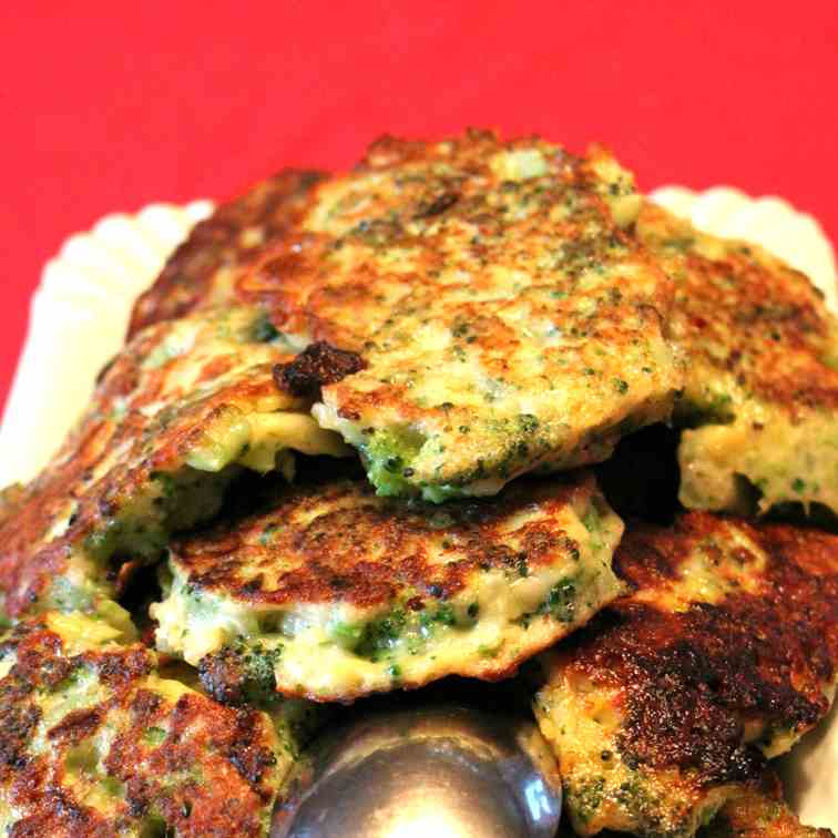 Broccoli Parmesan Patties