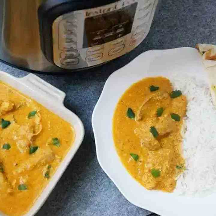Butter Chicken Instant Pot