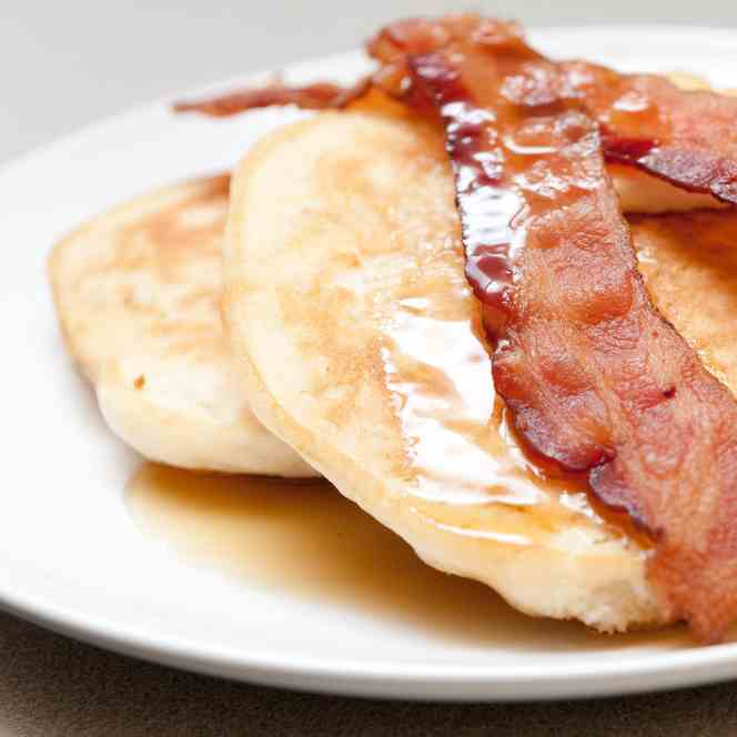 Paleo Bacon Pancakes for a Paleo Lunch