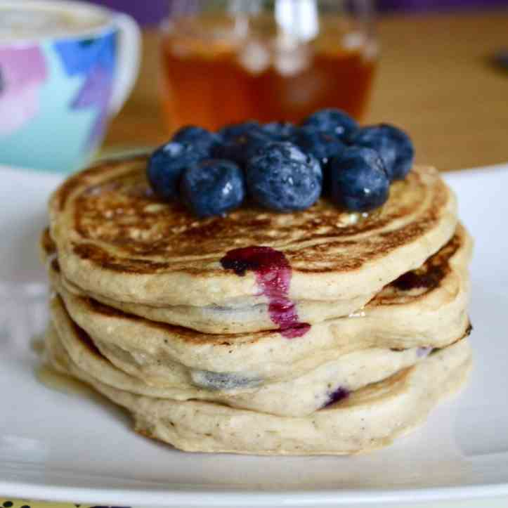 Blueberry Cinnamon Pancakes
