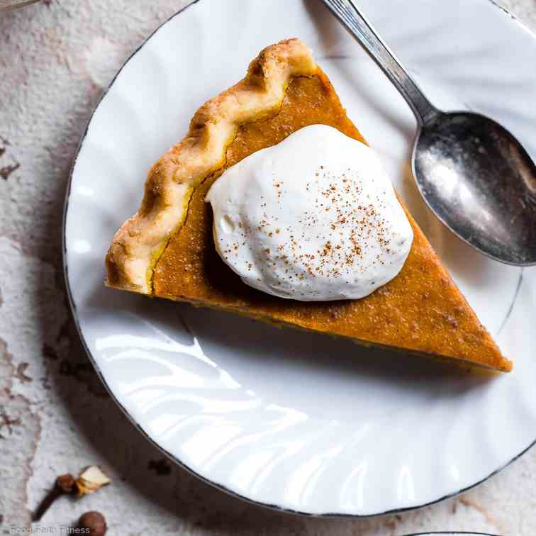 Sugar Free Low Carb Pumpkin Pie