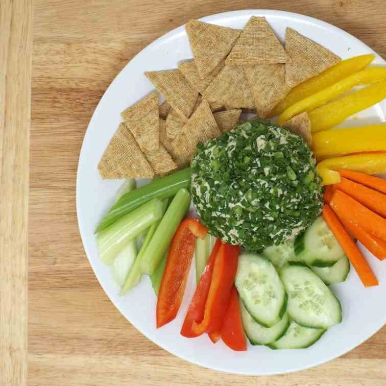 Vegan Cheese Ball with Herbs