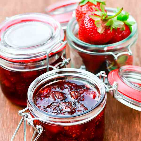 Spicy Strawberry Chipotle Jam