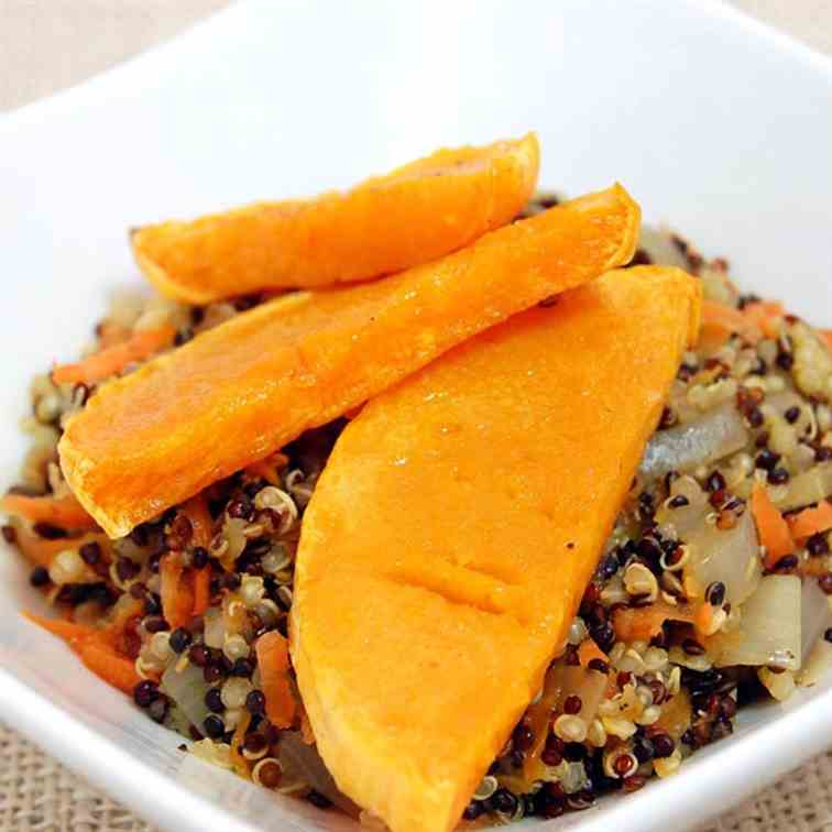 Quinoa Salad with Roasted Butternut Squash