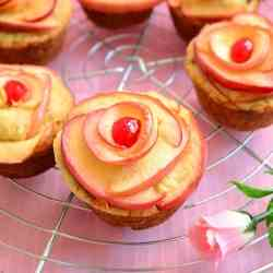 Rose Apple Muffin