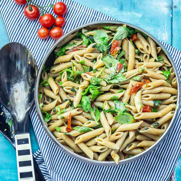 Simple Pasta Salad with Balsamic