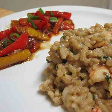 Risotto with Dried Porcini Mushrooms