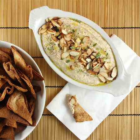 White Bean Spread with Rosemary & Almonds