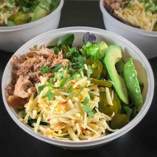 Pork Shoulder Carnitas Salad Recipe