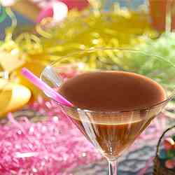 Melted Chocolate Easter Bunny Cocktail