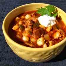 Posole - A Mexican-style stew
