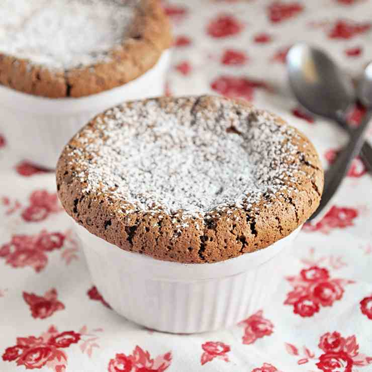 Quick - Easy Chocolate Souffle Recipe