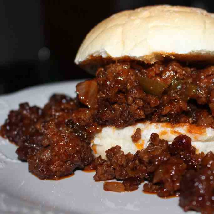 Cold Smoked Sloppy Joes