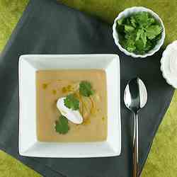 Cauliflower, Parsnip and Apple Soup