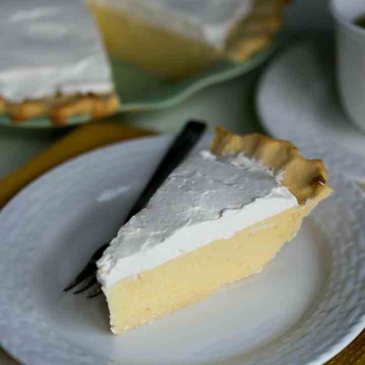 Sugar Free Banana Cream Pie