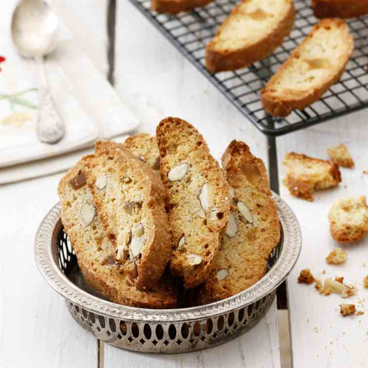 Orange, Almond and Ginger Cantuccini