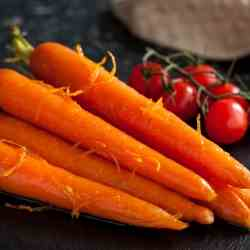 Ginger and Orange Carrots