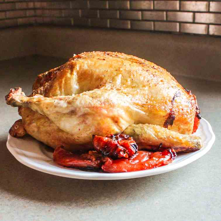 Fall Harvest Roasted Chicken