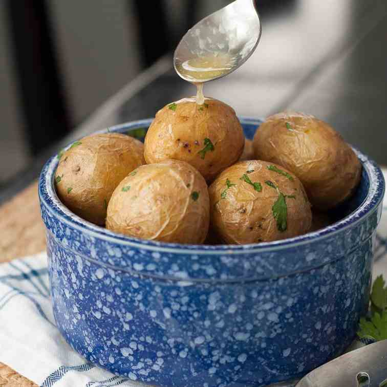 Boiled Salt Potatoes