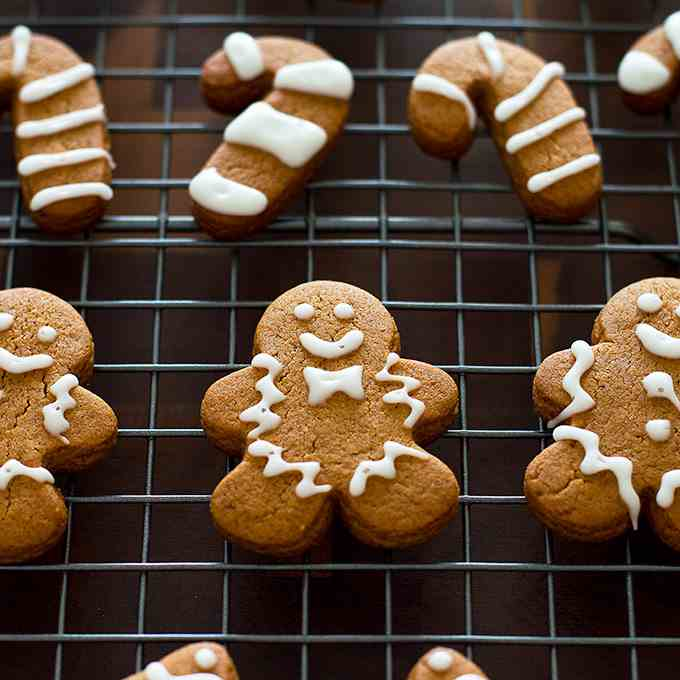 Small-batch Gingerbread Cookies