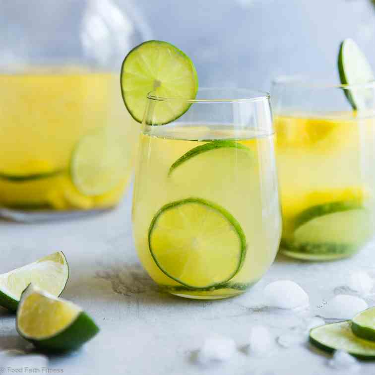 Tropical  White  Moscato  Sangria
