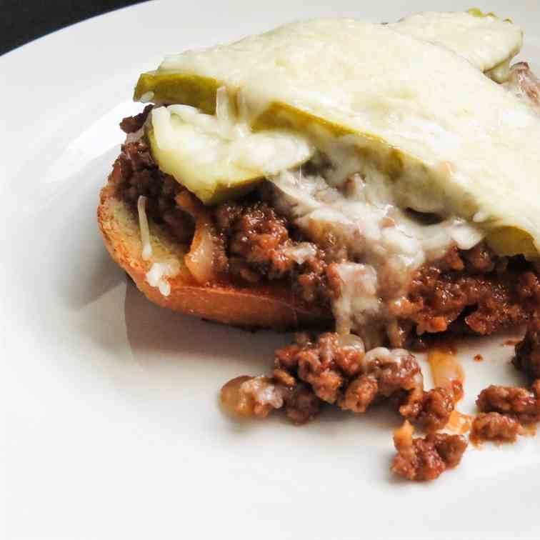 30 Minute Sloppy Joe Melts