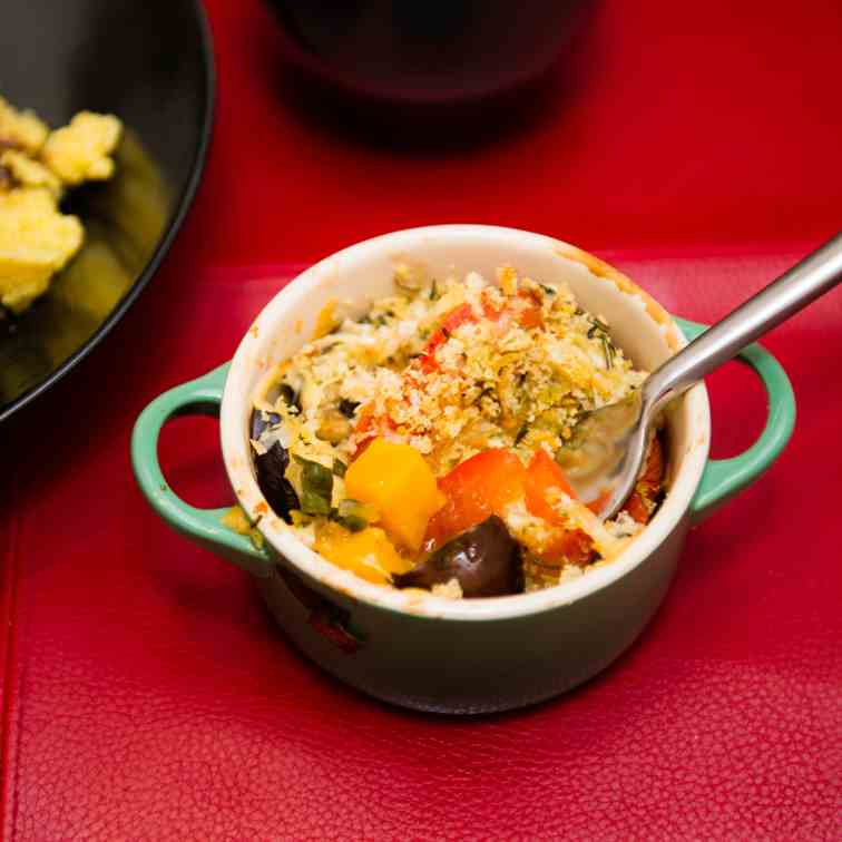 Healthy Vegetable Gratin