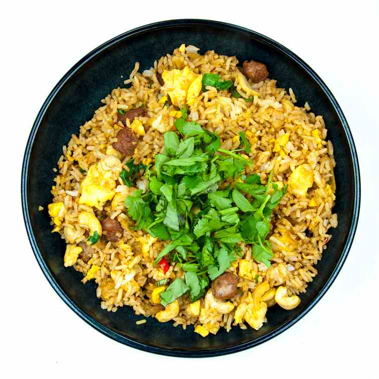 Thai Style Sausage Fried Rice