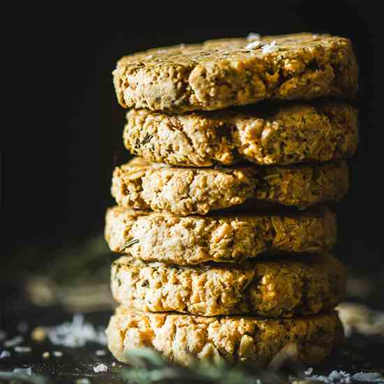 Rosemary and Parmesan Oat Biscuits