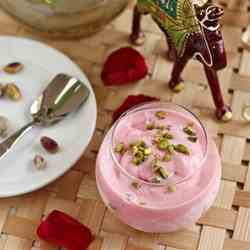 Rose, Pistachio & Cardamom Ice cream