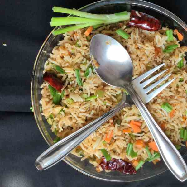 Chinese Fried Rice - A Healthy Fried Rice