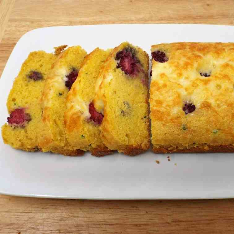 Serrano and Blackberry Cornbread