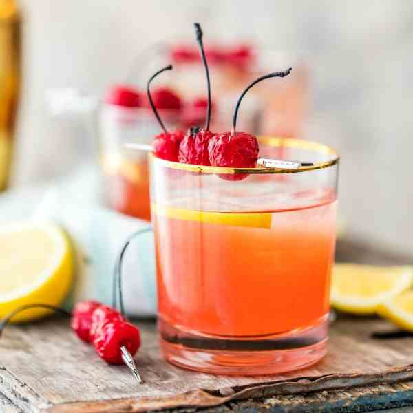 Cherry Whiskey Sour