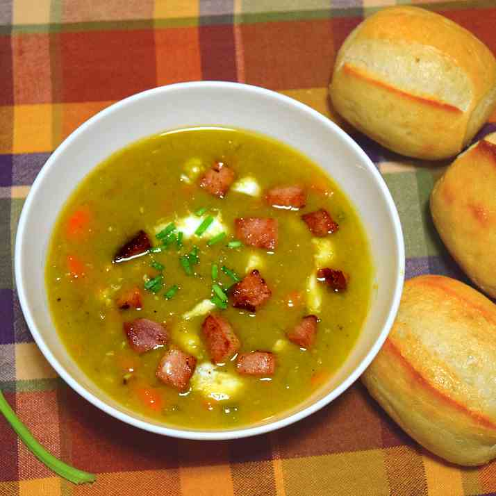 Homemade Split Pea Soup Recipe