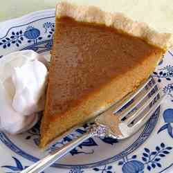 Pumpkin Pie with Gluten-Free Pie Crust