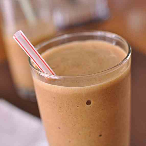 A Healthier Frozen Coffee with Chia