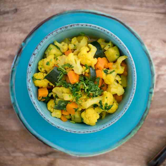 Colorful Vegetable Curry Recipe