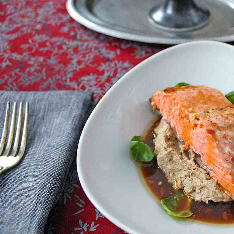 Lacquered Steelhead Trout