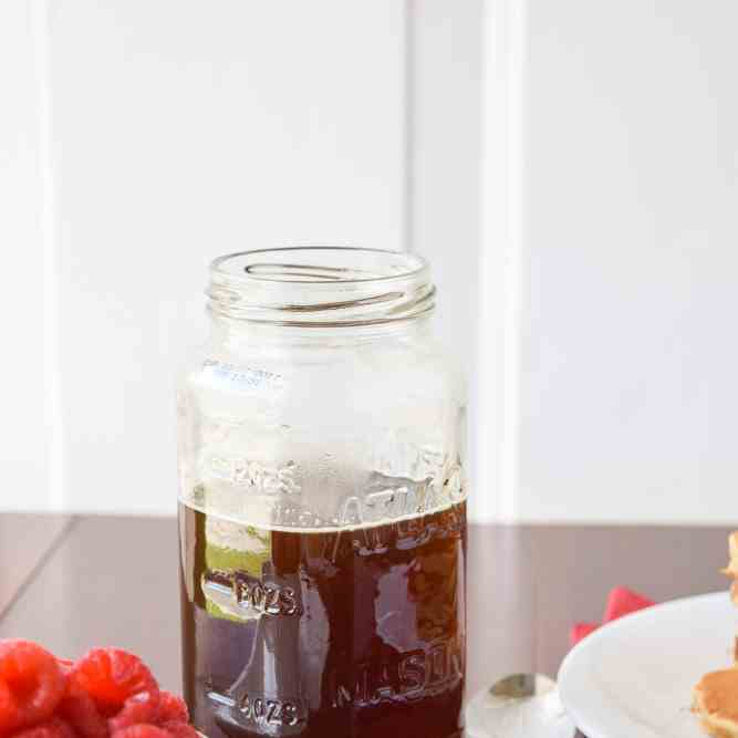 5-Minute Homemade Syrup