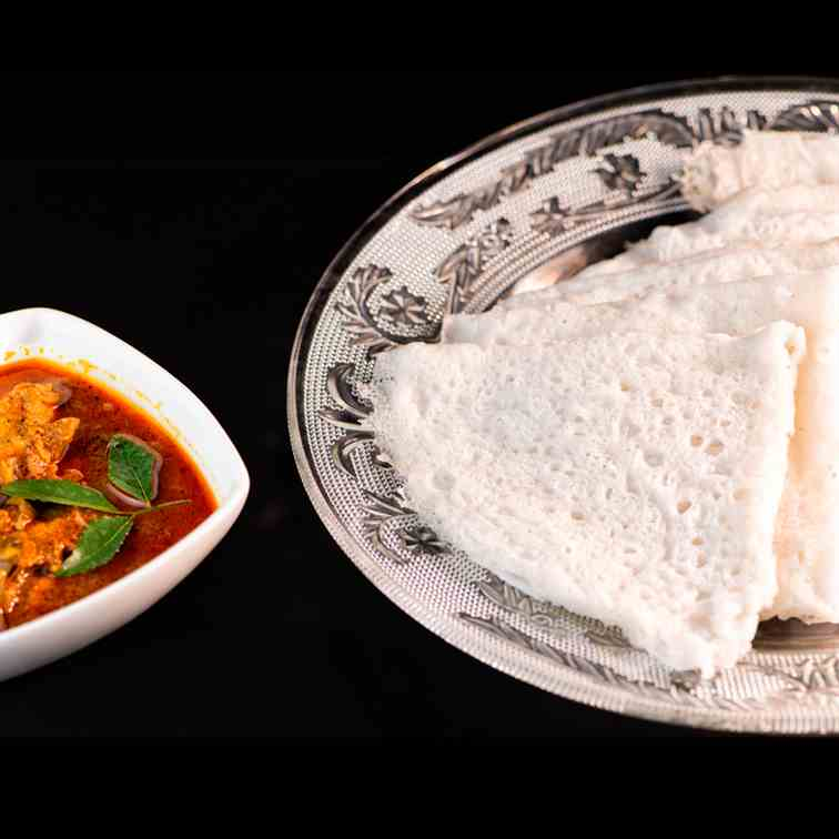 Neer Dosa -Recipe for Soft Neer Dosa