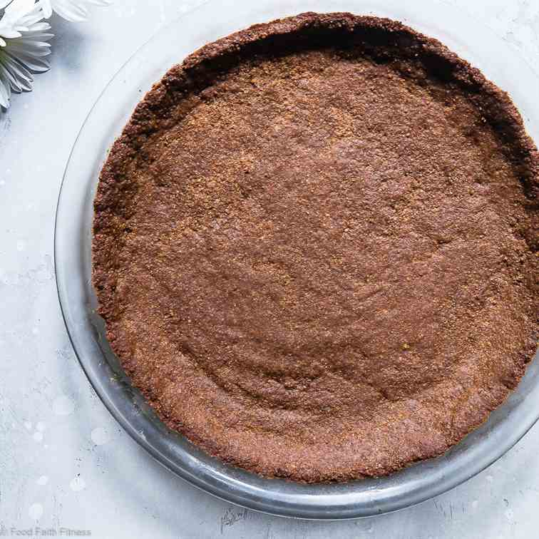 Low Carb Keto Graham Cracker Crust