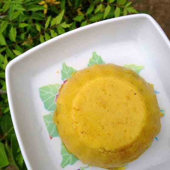 Mango flavored rava sheera