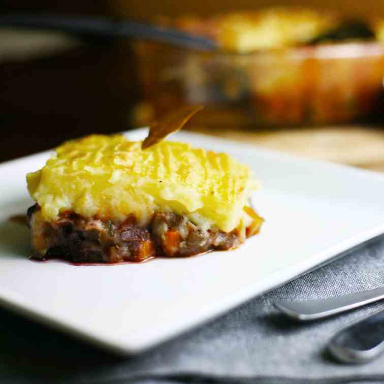 Vegan Shepherd's Pie or Cottage Pie